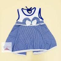 Dress Bayi Pita Bahan Katun
