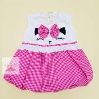 Dress Pesta Bayi Perempuan Bahan Katun