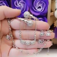 xuping set perhiasan anak lapis emas 24k a2756