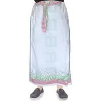 Celana Sarung Pria Muslim / Sarung Pria Premium Putih - YAKA 99