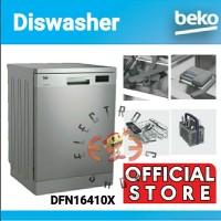 BeKo DFN16410X - Dishwasher Stainless Steel - Mesin Cuci Piring