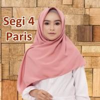 TERMURAH Hijab Jilbab Paris / Jilbab Polos Segi 4 / Jilbab Segi Empat