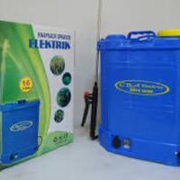 Sprayer tangki semprot elektrik 16 liter tangki cas