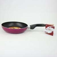 Supra Fry Pan | Teflon Supra | Penggorengan Supra 24cm | Red Wine