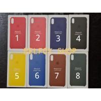 IPhone X Leather Case Cover Soft Hard Original Design Kulit Hardcase