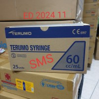 Catheter Tip Terumo 60cc syringe/Spuit 60ml Terumo Lubang Tengah