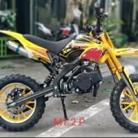 Motor Mini Trail MT 2Tak 50cc