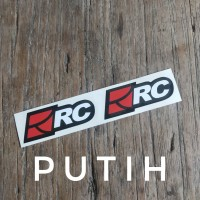 RC motogarage stiker helm