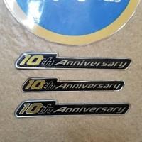 Emblem Honda Fit Jazz GE8 - 10th Anniversary JDM