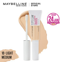 Maybelline Superstay 24H Full Coverage Concealer - 18-Light Medium