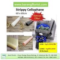 Strippy Cellophane 1 lbr (1236), aksesoris bunga, kertas bunga