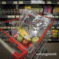 Tote Bag Transparant / Tote Bag Plastik / Tas Plastik / PVC
