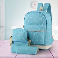 BRCXB Tas Ransel Backpack Sekolah Anak Perempuan Cewek 4 in 1