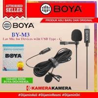 MIC Boya BY-M3 USB Type C Lavalier Microphone