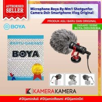 BOYA BY-MM1 Universal Cardioid Microphone for Smartphon DSLR Camcorder