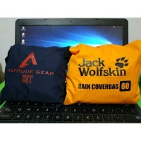 Raincover Cover Bag 60 Liter Pelindung Tas Anti Air CONSINA TNF EIGER