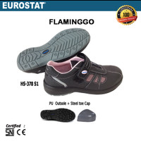 Sepatu Safety Eurostat - Flaminggo, Khusus Wanita, Anti Slip