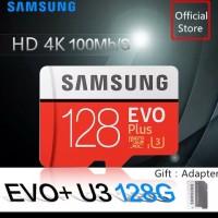 Samsung SD Card 128GB Memory Card Class 10 EVO Plus 100MB/s Micro SDXC
