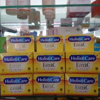 Holisticare Ester C isi 30 tablet kemasan baru Ready Stok.