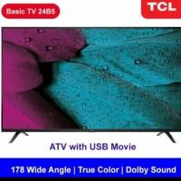 [Resmi] TCL 24 inch HD TV USB HDMI Dolby - 24B5