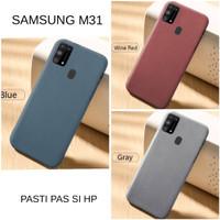 Casing Softcase Scrub Samsung Galaxy M31 Soft Back Case