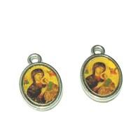 medali rosario Maria penolong abadi kecil