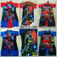 Paling Terlaris Baju Renang Anak Laki 8-12 Tahun Size 2L-4L Batman