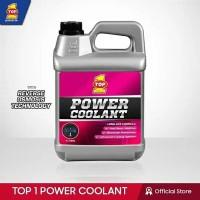Air Radiator Power Coolant Top 1 Warna Merah 4liter