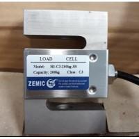 Load cell zemic H3 - C3 200kg S type