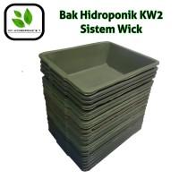 Bak Hidroponik KW2 Sistem Wick (Ecer)