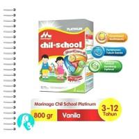 Chil School Platinum Moricare 800gr Rasa Vanila & Madu (3-12 Tahun)