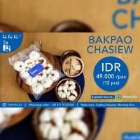 Dimsum Bakpao Isi Chasiew Ayam Frozen Halal ( 12 Pcs)