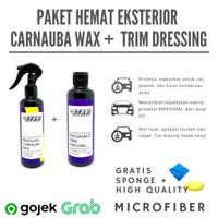 Paket Hemat - Brazilian Carnauba Wax Spray + Trim Dressing Otobi