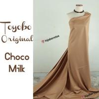 HijabersTex 1/2 Meter Kain TOYOBO ORIGINAL Choco Milk