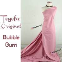 HijabersTex 1/2 Meter Kain TOYOBO ORIGINAL Bubble Gum