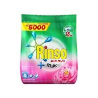 Rinso Molto Detergen Deterjen Bubuk Anti Noda Rose Fresh 240g