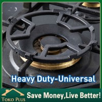 Universal Stovetop Trivet Tatakan Kompor gas Bahan Besi