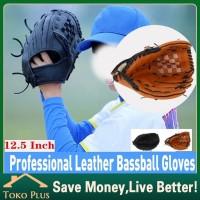 12.5 Inch MITT Glove softball/sarung tangan baseball kulit Uk dewasa - Hitam
