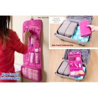 TERLENGKAP////// 059 New Travel Toiletries Bag Tas Travel Mate
