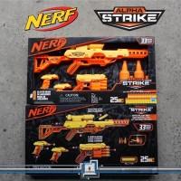 Nerf Alpha Strike BATALLION STRIKE / Wolf Fang 4 in 1 set Komplit