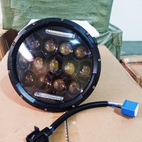 lampu led daymaker harley jeep mobil motor 7 inci made in usa
