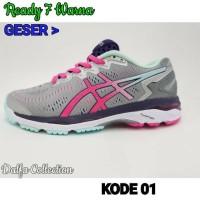 SH2523 Sepatu Volly Wanita Asics Gel Kayano 23 Premium Original