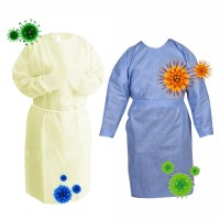 SH Ready Stock Disposable Anti-dust Clothing Gown Safety Coverall