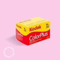 Limited Roll Film Kodak Colorplus 200 FRESH 07 2018