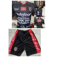 SH2957 Stelan Setelan Jersey Kaos Baju Celana Bola Bali United Home