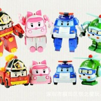 FIGURE ROBOCAR POLI 1 SET