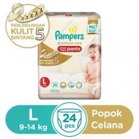 Pampers Popok Celana L-24 Premium Care