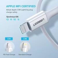 MFI apple certified l Ugreen USB C to Lightning Cable 36Watt 60759