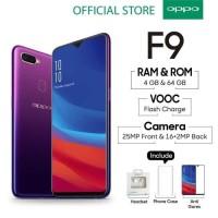 OPPO F9 Smartphone 4GB [Starry Purple] [4GB]