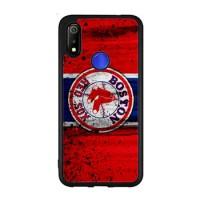 Hardcase Casing Realme 3 Boston Red Sox Grunge Baseball Clu